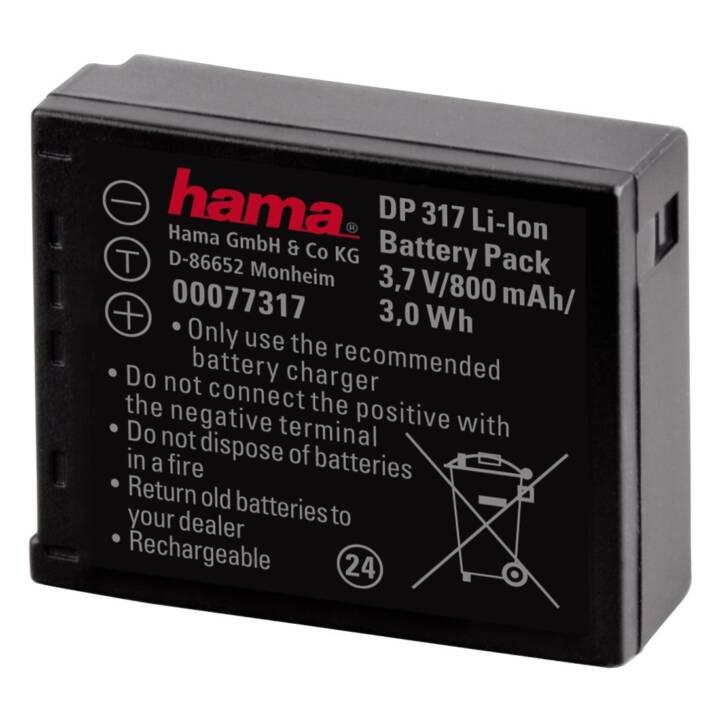 HAMA DP 317 Batterie, noir