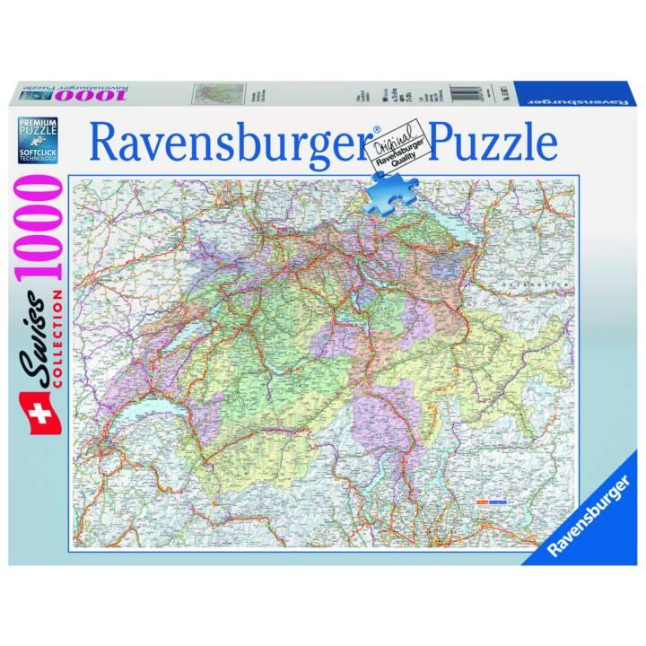 RAVENSBURGER Swiss Card Puzzle