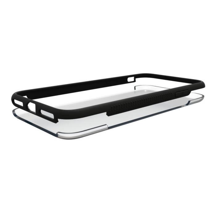 HAMA Backcover Frame (Galaxy S9, Transparent, Schwarz)