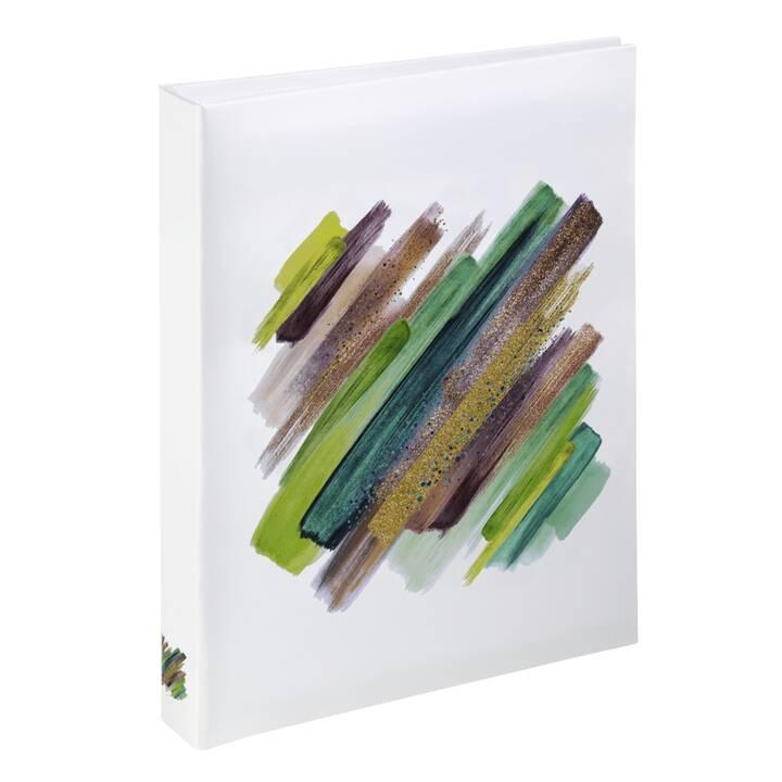 HAMA Fotoalbum (Weiss, Mehrfarbig, 165 mm x 130 mm)