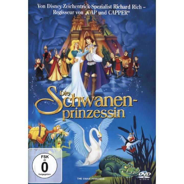 Die Schwanenprinzessin - The Swan Princess (DA, NO, DE, SV, EN)