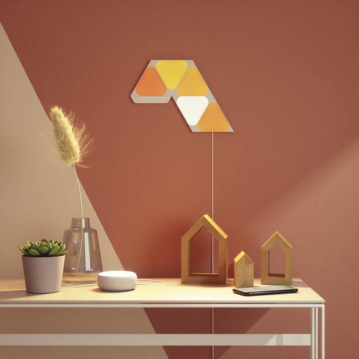 NANOLEAF LED Stimmunglicht Mini Triangles Starter Kit  (Mehrfarbig)
