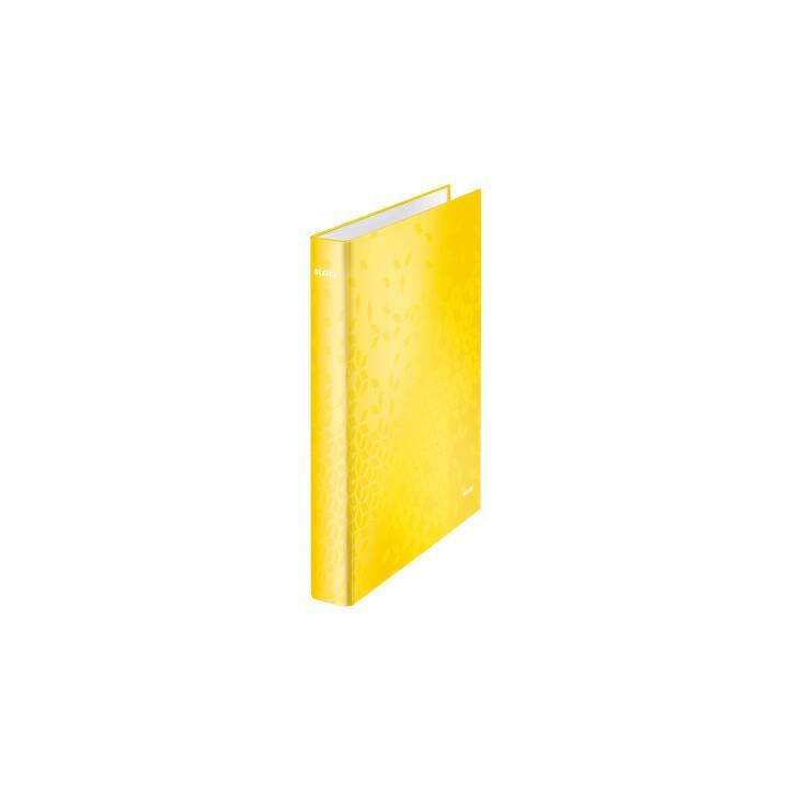 LEITZ Ringbuch (A4, Gelb)