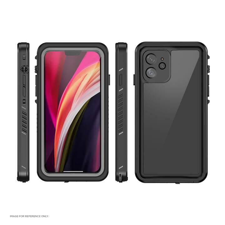 EIGER Hardcase Avalanche (iPhone 12 Pro, iPhone 12, Nero)