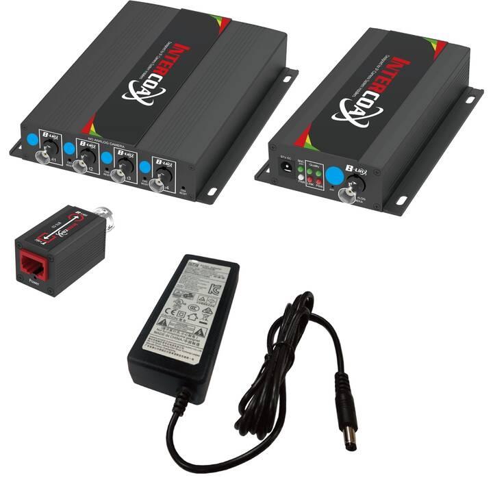 INTERCOAX Netzwerkadapter EUP-2704R-4T-PKG
