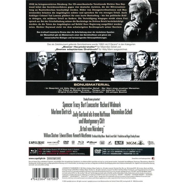 Urteil von Nürnberg (Mediabook, DE, EN)