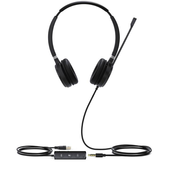YEALINK NETWORK TECHNOLOGY UH36  (Over-Ear, Noir)