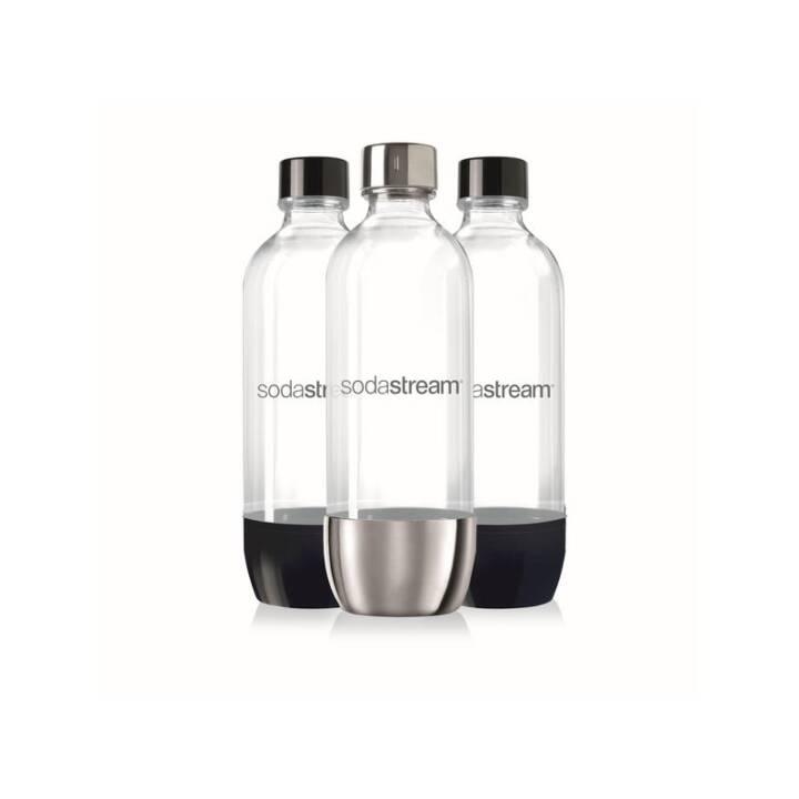 SODASTREAM Kunststoff-Flasche Trio (1 l, 3 Stück)