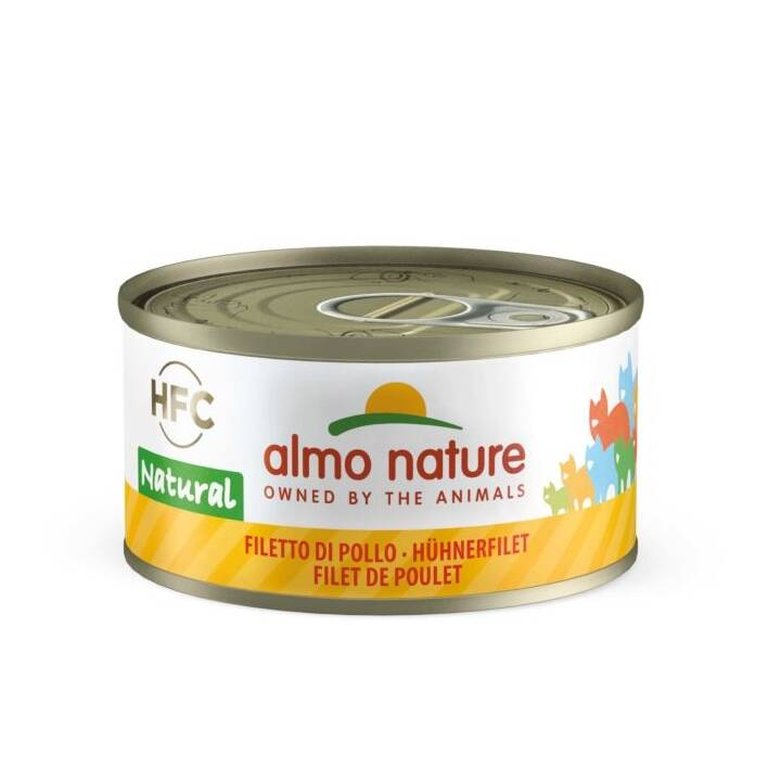 ALMO NATURE HFC Natural (Adult, 55 g, Thunfisch, Huhn)