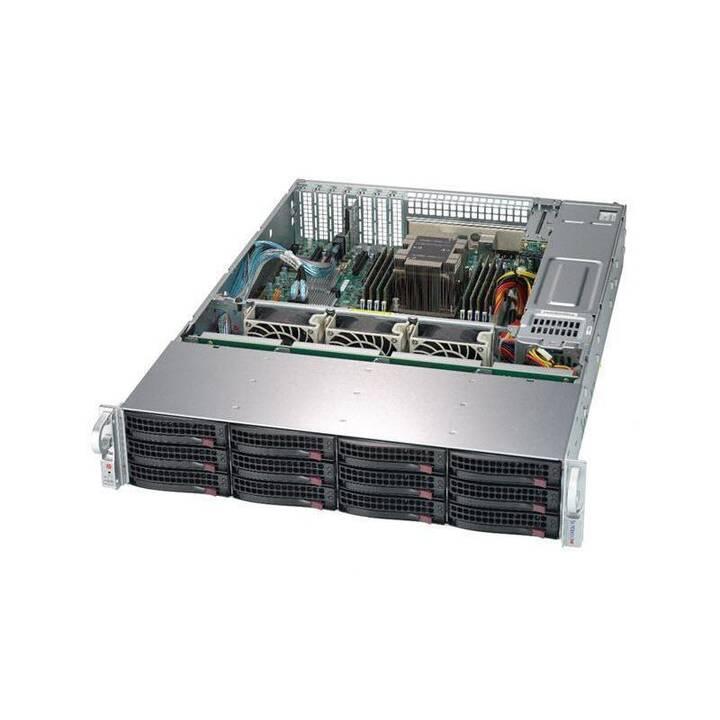 SUPER MICRO SuperStorage Server 5029P-E1CTR12L - montage en rack - sans CPU - 0 GB - 0 GB - 0 GB