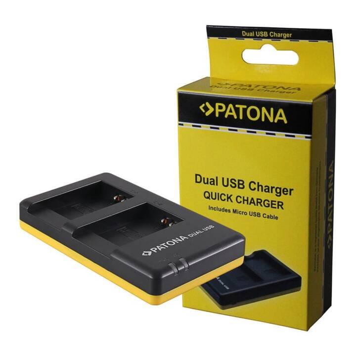 PATONA Chargeur Dual pour Canon NB-13L