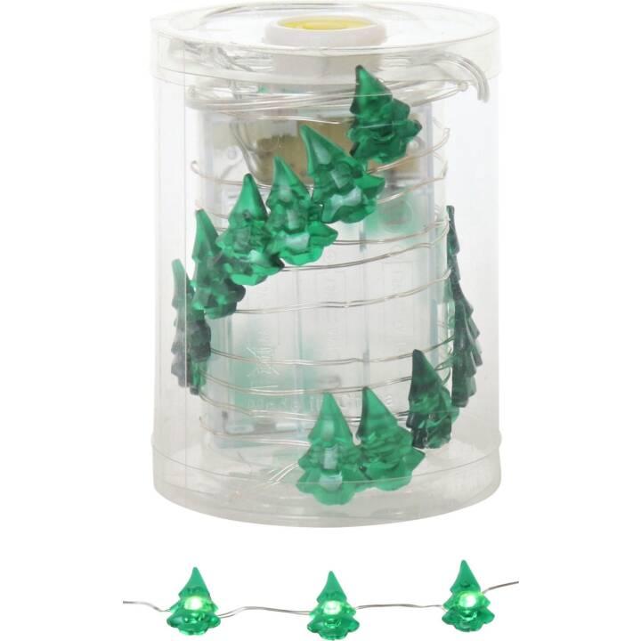 HOFF INTERIEUR Weihnachtsbaum LED-Girlande, 220 cm