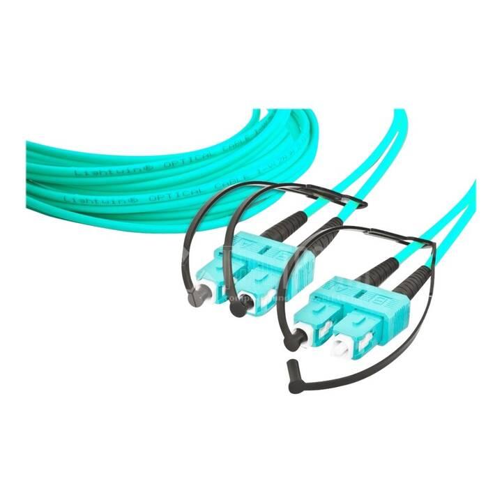 LIGHTWIN Netzwerkkabel (SC multi-mode, 5 m)