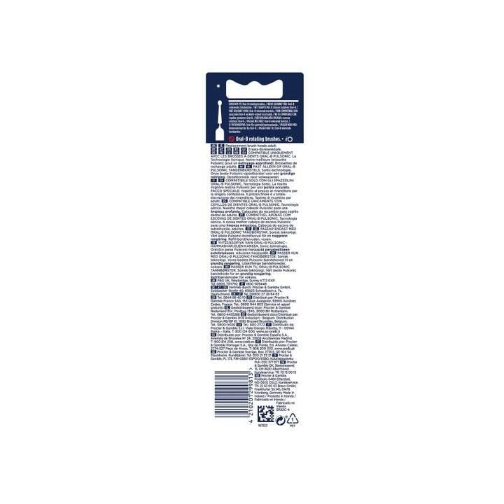 ORAL-B Testa di spazzolino Pulsonic Clean (4 pezzo)