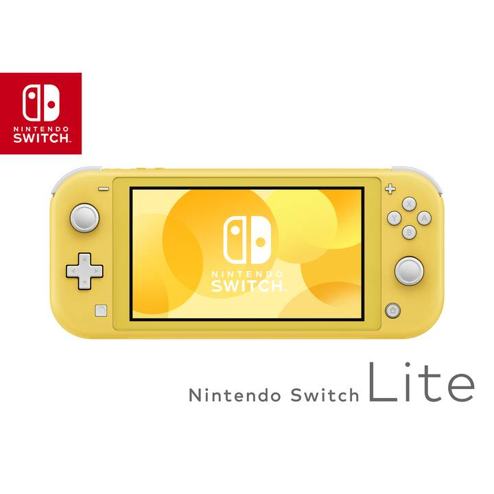 NINTENDO Switch Lite Yellow 32 GB (Tedesco, Italiano, Francese)