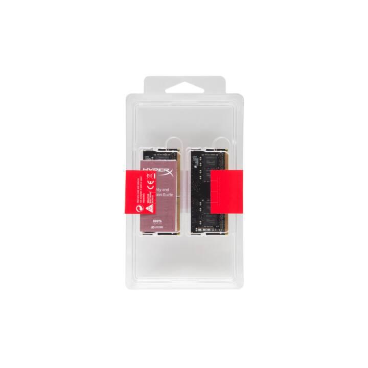 HYPERX Impact (2 x 16 GB, DDR4-SDRAM, SO-DIMM 260-Pin)