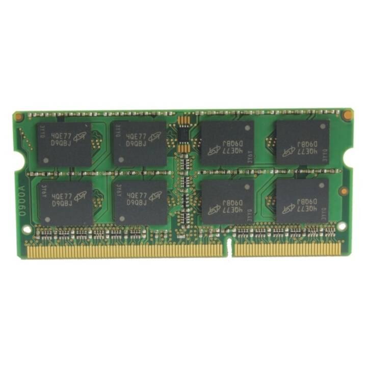 FUJITSU S26391-F1392-L800, 8 GB, DDR3, SO DIMM 204-PIN