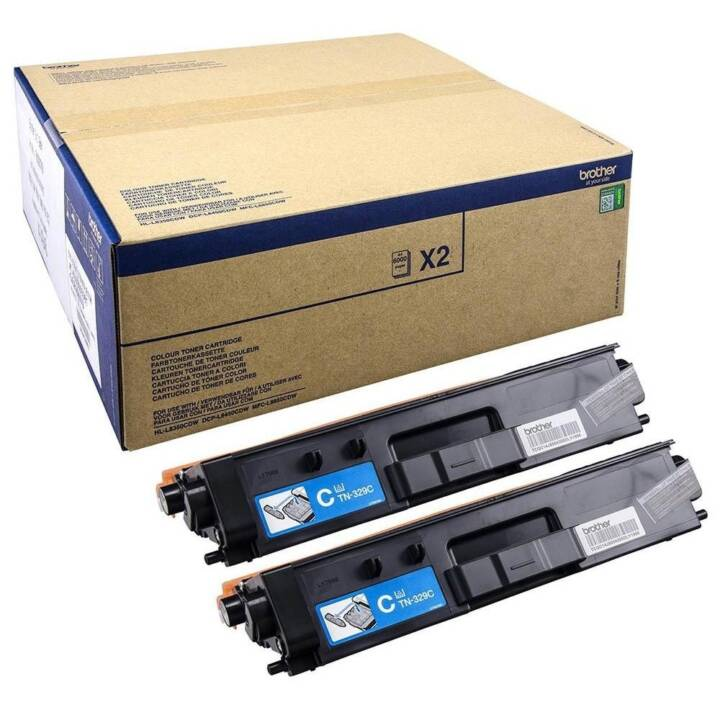BROTHER TN-329C (Multipack, Ciano)