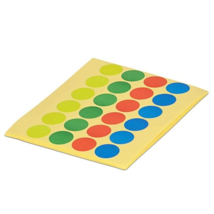 MAUL Moderationskarten Farbpunkte 1.9 cm