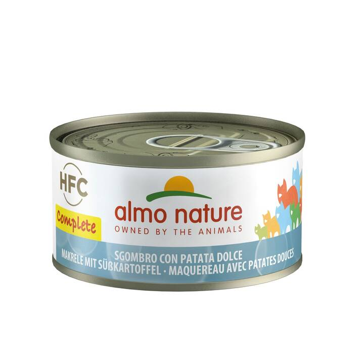 ALMO NATURE HFC Complete (Adulto, 70 g, Pesce, Verdura)