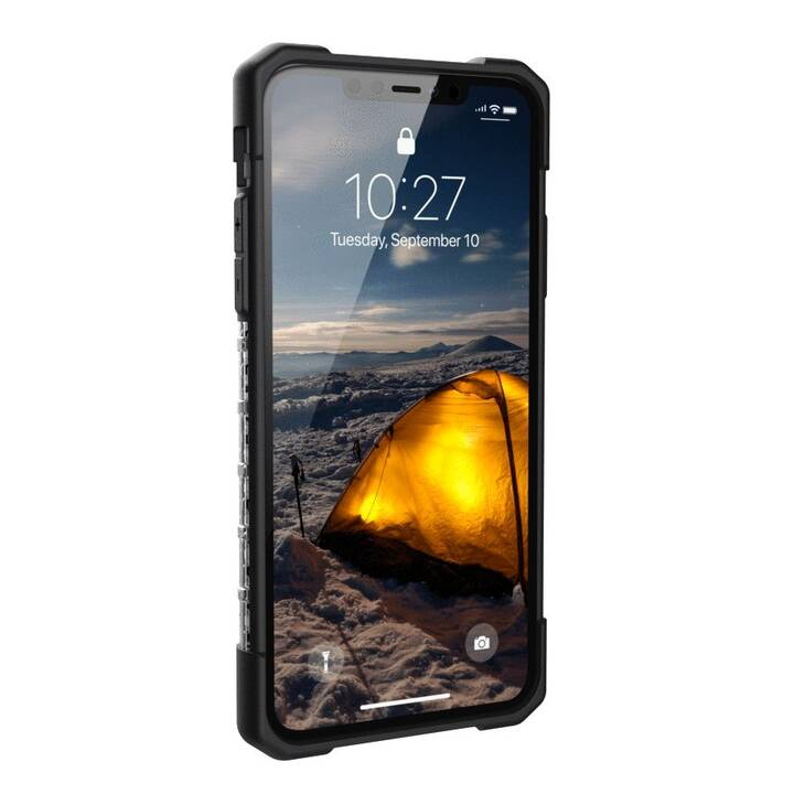 URBAN ARMOR GEAR Backcover Plasma (iPhone 11 Pro Max, Transparent, Noir)