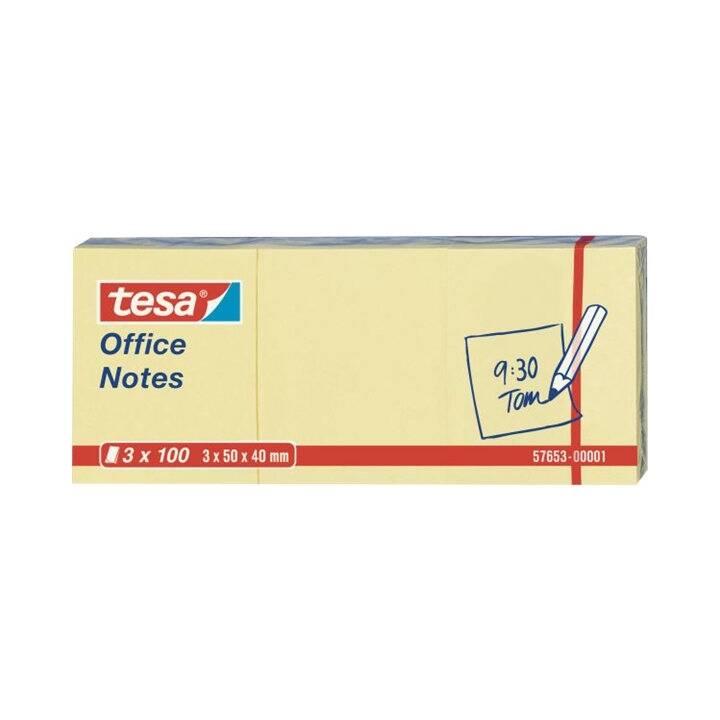 TESA  Office Notes 40x50mm gelb 3x100 Blatt