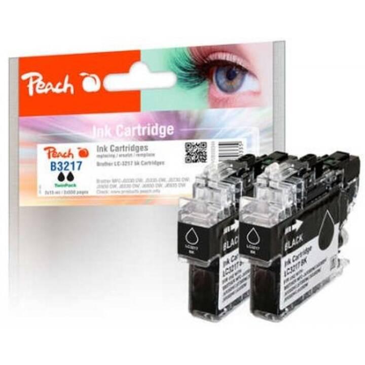 PEACH PI500-234, 550 Seiten, Schwarz, 2 Stk