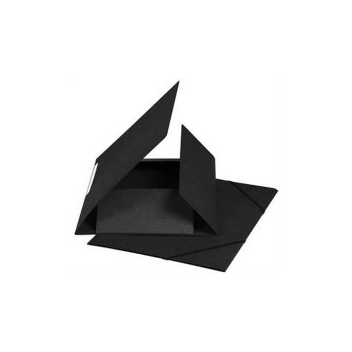 Cartella elastica BIELLA A4 nero