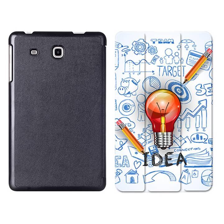 "EG MTT Tablet Bag con Smart Foldable Cover per Samsung Galaxy Tab A6 7 ""Tablet A6 7 ""Tablet - Lampadina"