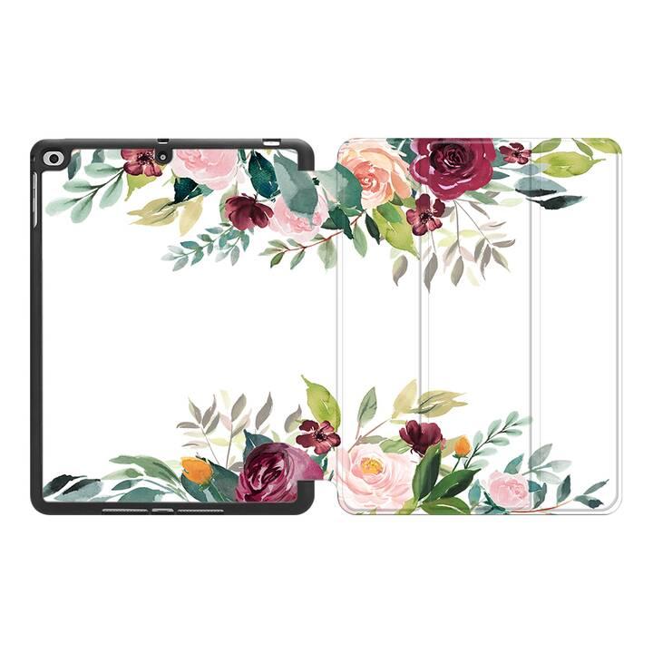 """EG MTT Hülle für Apple iPad Air 3 2019 10.5"""" - Blumen"""
