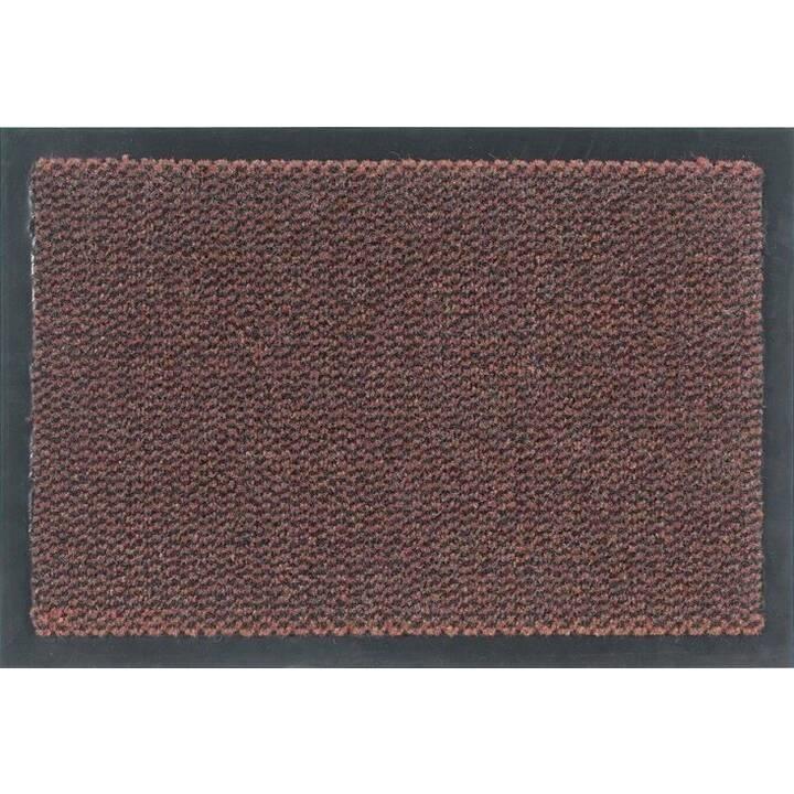 ASTRA Paillassons Saphir (40 cm x 60 cm, Rouge)