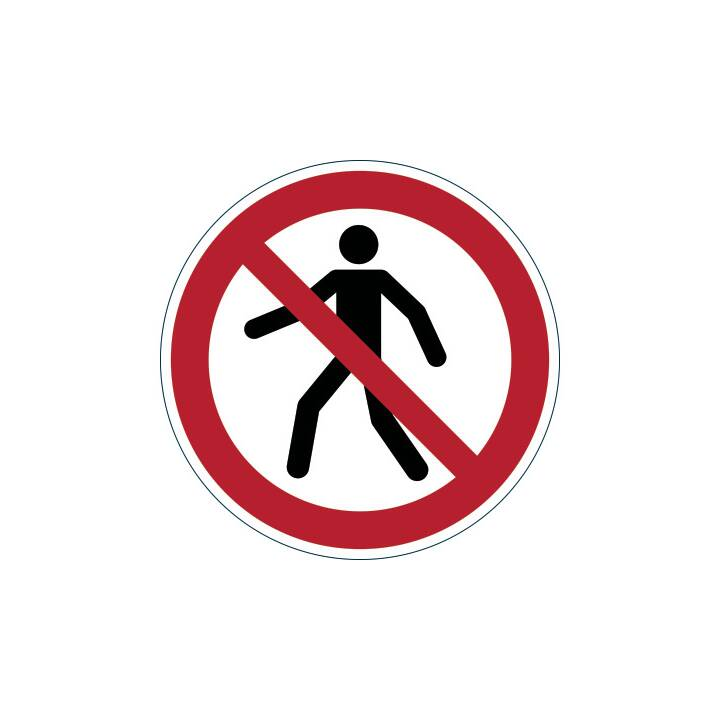 DURABILE Pedonale Simbolo Proibito Pedonale