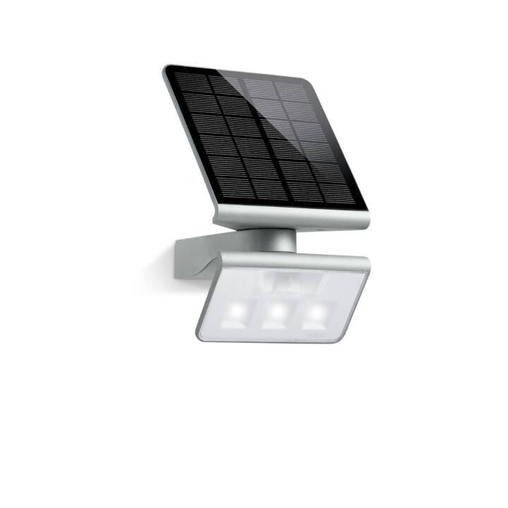 STEINEL XSolar L-S Wandleuchte (LED, 1.2 W, Silber)