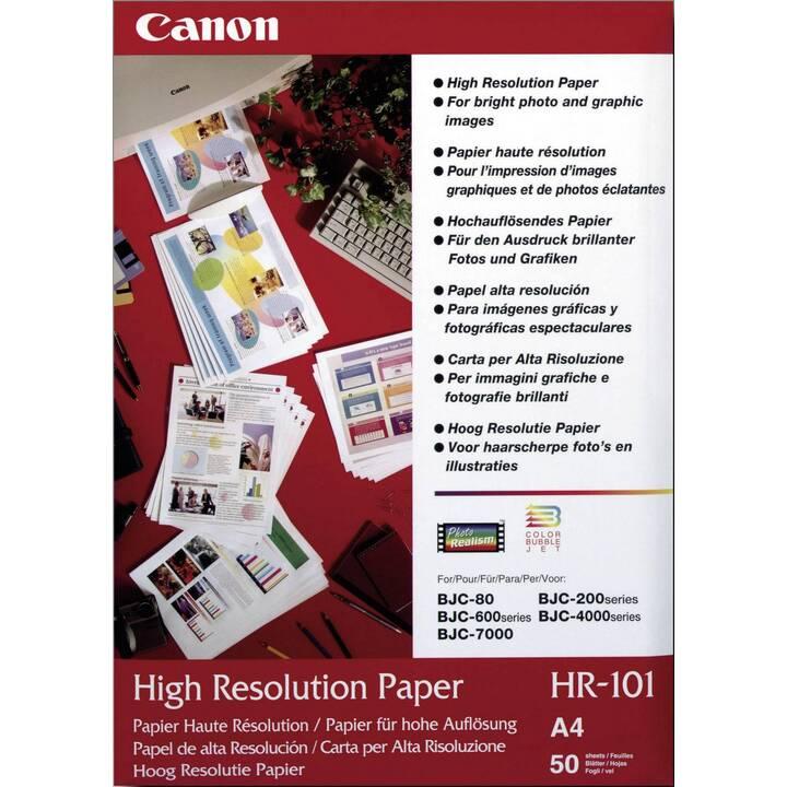 CANON HR101N Fotopapier (A4, 50 Blatt)