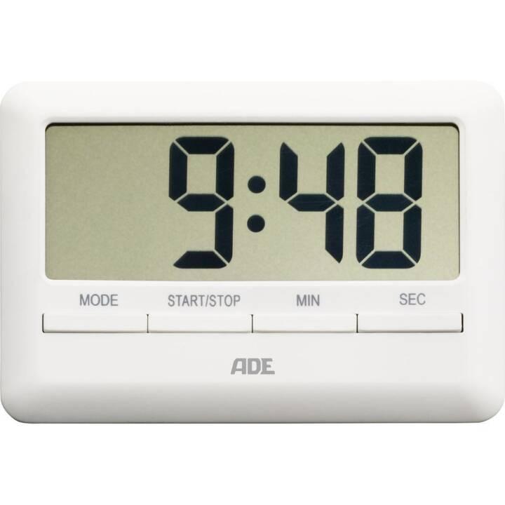 ADE TD1600 Minuterie de cuisine ADE TD1600 Blanc numérique