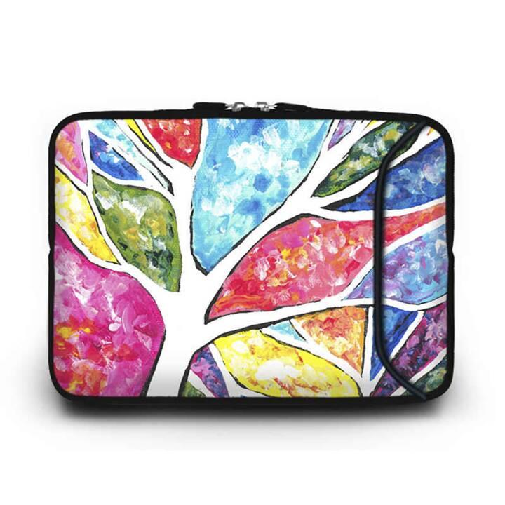 """EG HUADO Housse d'ordinateur portable pour 7"""" - colorée"""