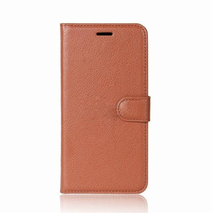 EG Mornrise Wallet Case fuer Samsung Galaxy A7 2018 - Braun
