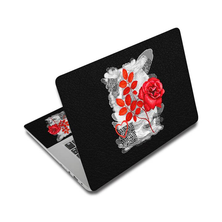 """EG adesivo per laptop 14"""" - fiori"""