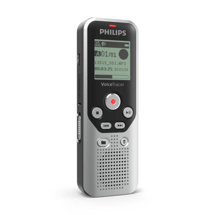 PHILIPS DVT1250, 8 GB, Grey