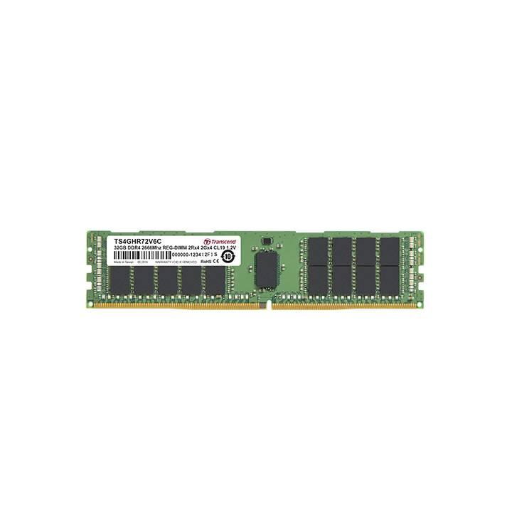TRANSCEND TS4GHR72V6C (1 x 32 GB, DDR4-2666, DIMM 288-Pin)
