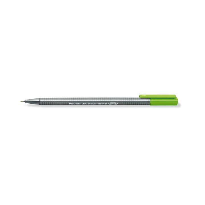 STAEDTLER Triplus Fineliner 0,3mm giallo-verde