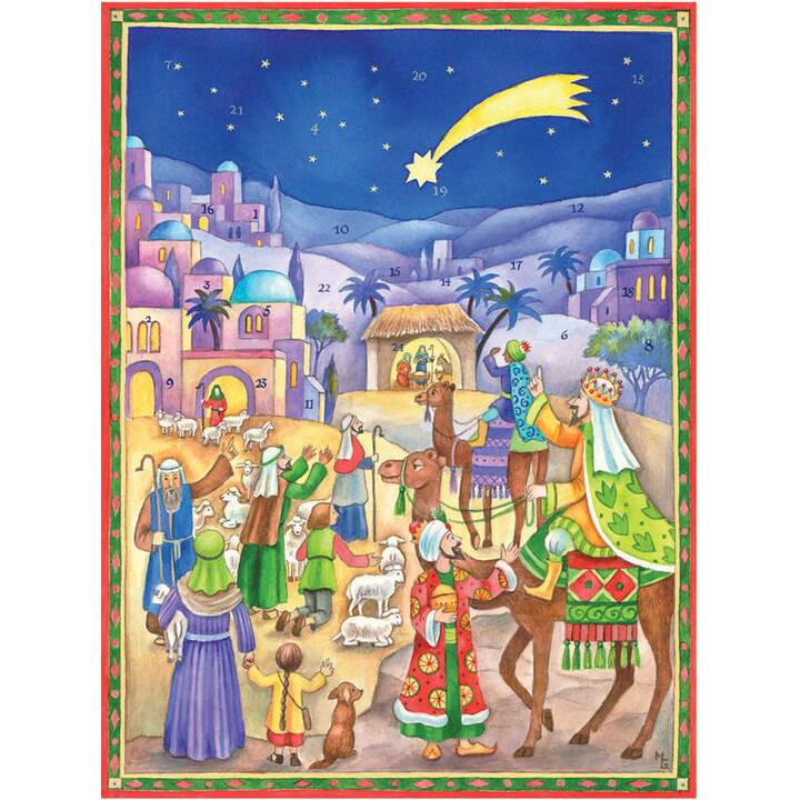 SELLMER Calendari dell'avvento di illustrazione (35.5 cm x 26.5 cm)