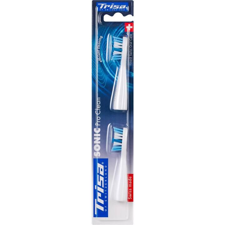 TRISA Tête de brossette Professional Sonic (2 x)