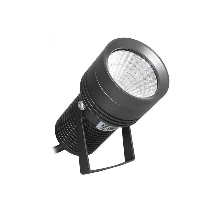 SCHÖNENBERGER Charly Faretti per esterni (LED incorporato, 8 W, Nero)