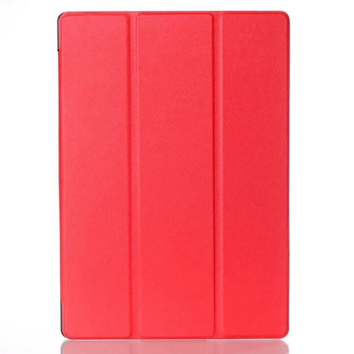 """EG étui à rabat pour Lenovo Tab 2 A10-70 10.1"""" - rouge"""