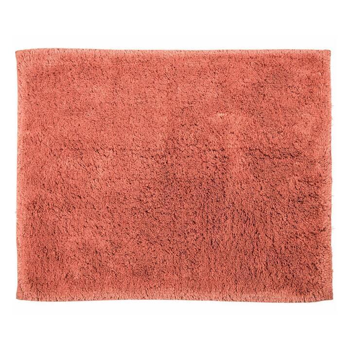LIVIQUE Tapis de bain Diana (55 cm x 65 cm, Rose-marron)