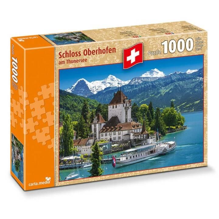 Puzzle di CARTA.MEDIA Castello di Oberhofen Thun