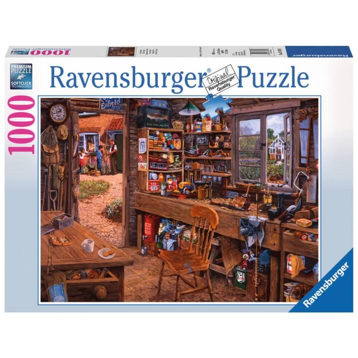 RAVENSBURGER Opas Schuppen Puzzle, 1000 Stk.