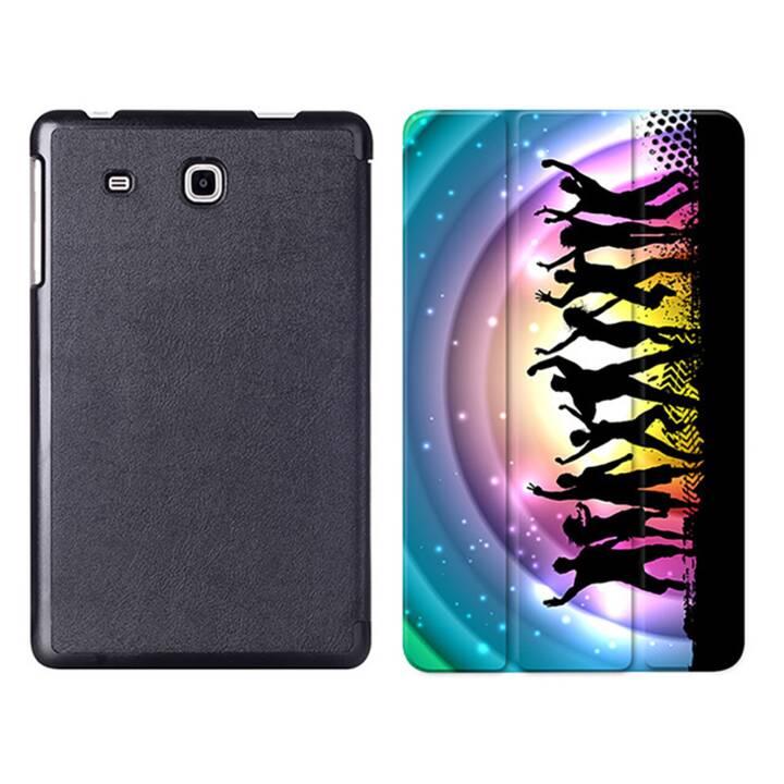 """EG MTT Sacoche à comprimés avec étui Smart pliable pour Samsung Galaxy Tab A6 7"""" A6 Tablet - Party"""