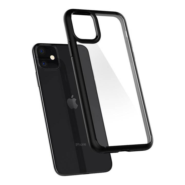 SPIGEN Backcover Ultra Hybrid  (iPhone 11, Noir)